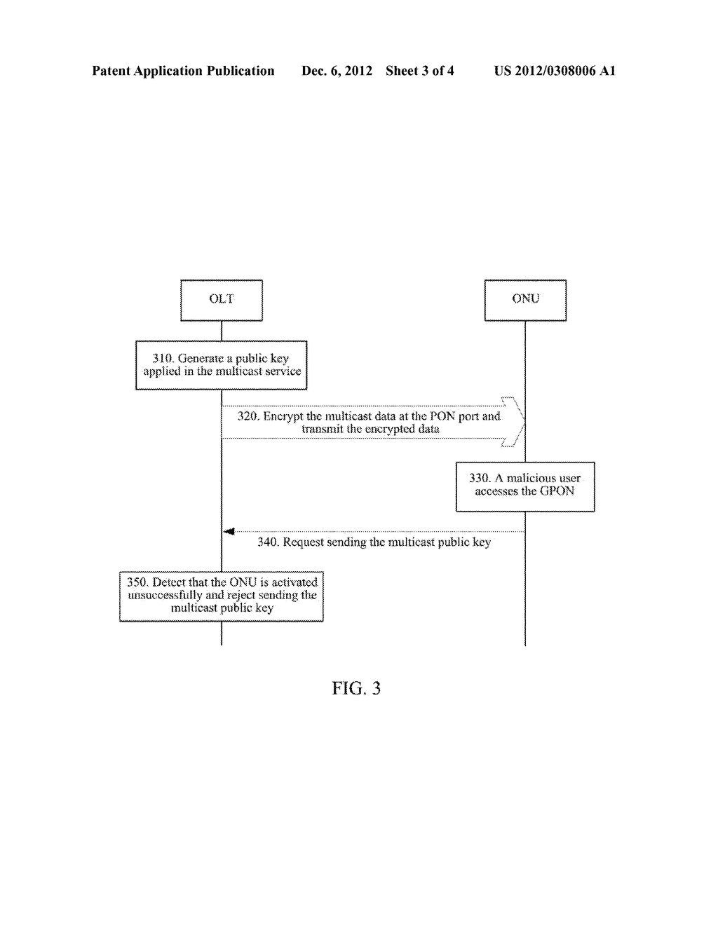 Method and Device for Encrypting Multicast Service in Passive Optical     Network System - diagram, schematic, and image 04
