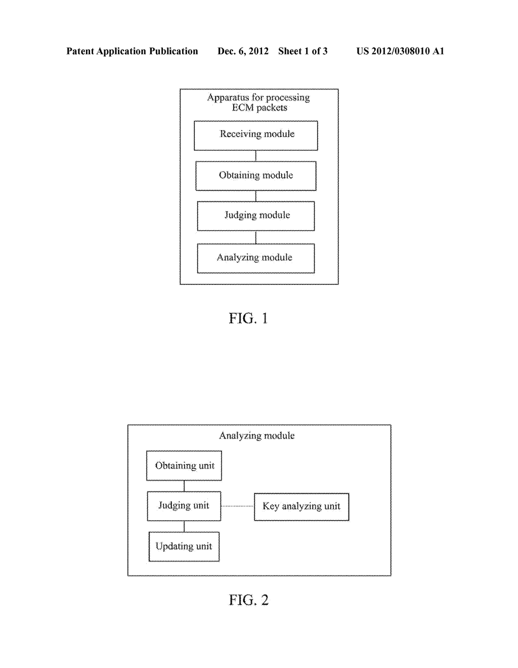 Method and Apparatus for Processing Entitlement Control Message Packets - diagram, schematic, and image 02
