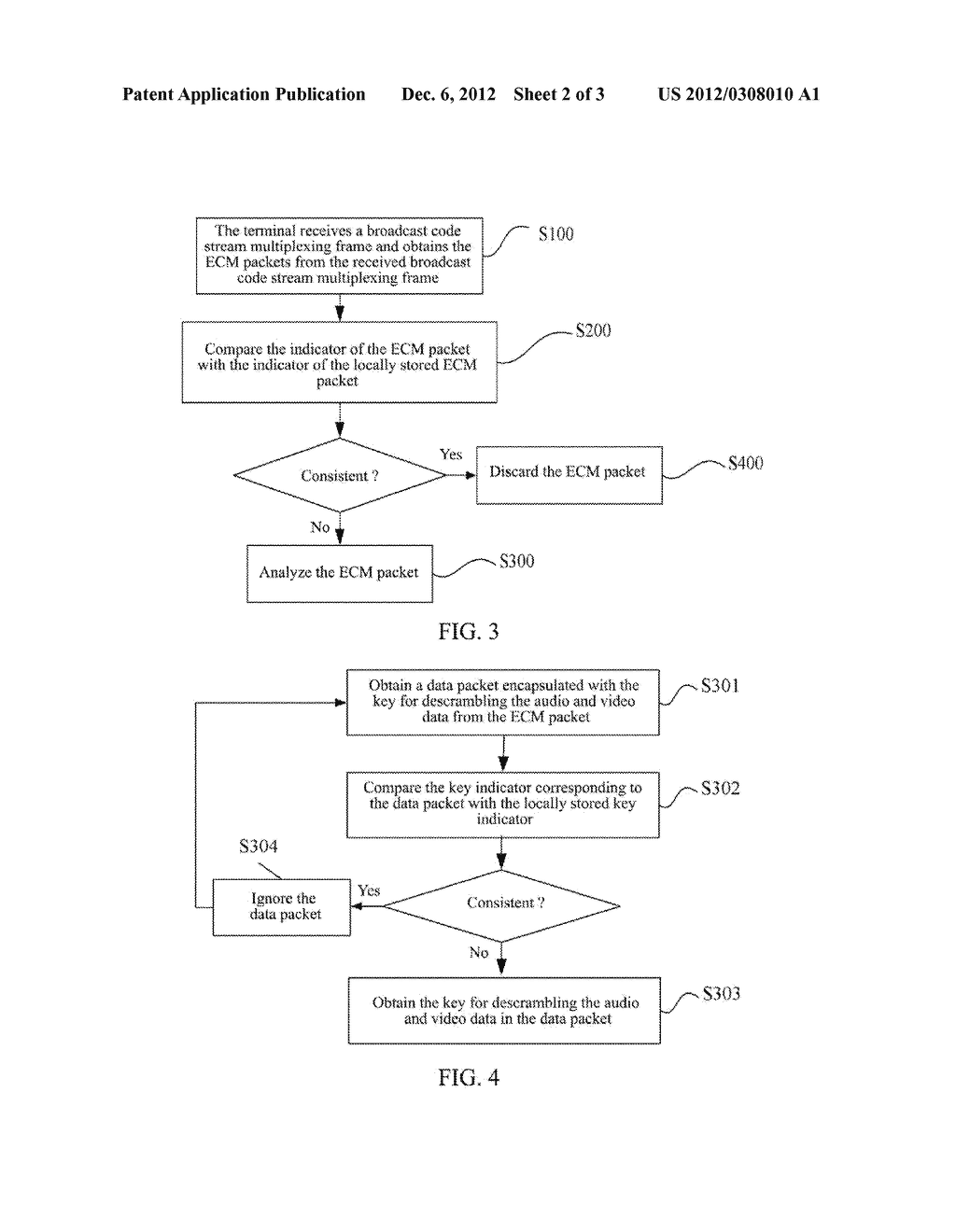 Method and Apparatus for Processing Entitlement Control Message Packets - diagram, schematic, and image 03