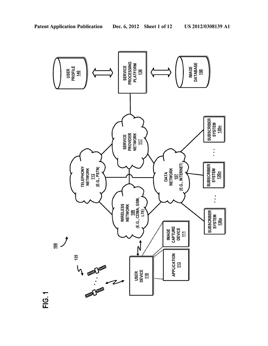 METHOD AND SYSTEM FOR FACILITATING SUBSCRIBER SERVICES USING MOBILE     IMAGING - diagram, schematic, and image 02