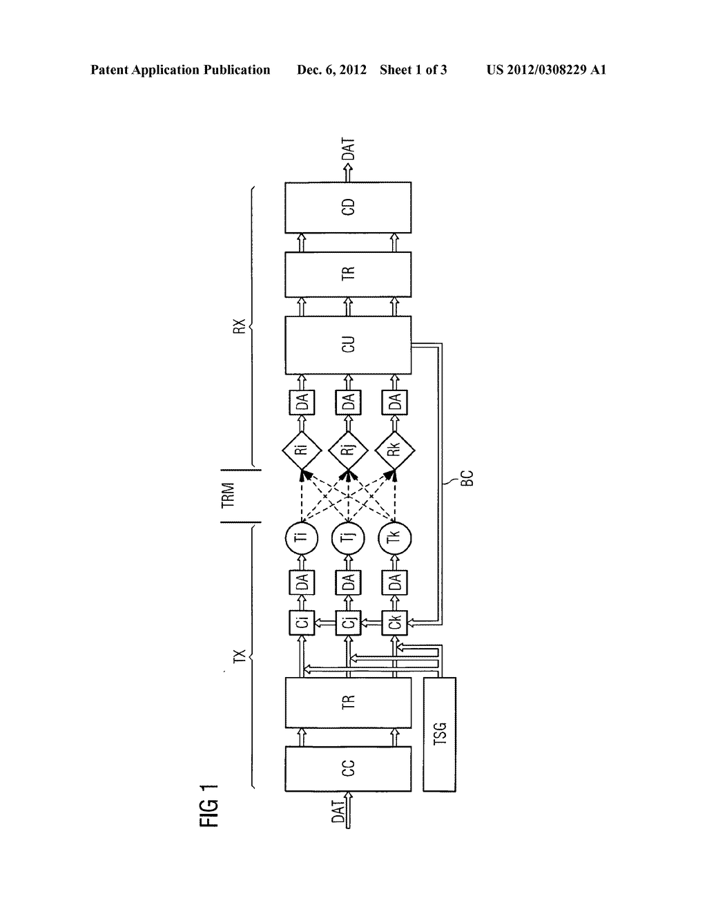 METHOD AND ARRANGEMENT FOR STABILIZING A COLOR CODING METHOD FOR OPTICAL     TRANSMISSION OF DATA - diagram, schematic, and image 02
