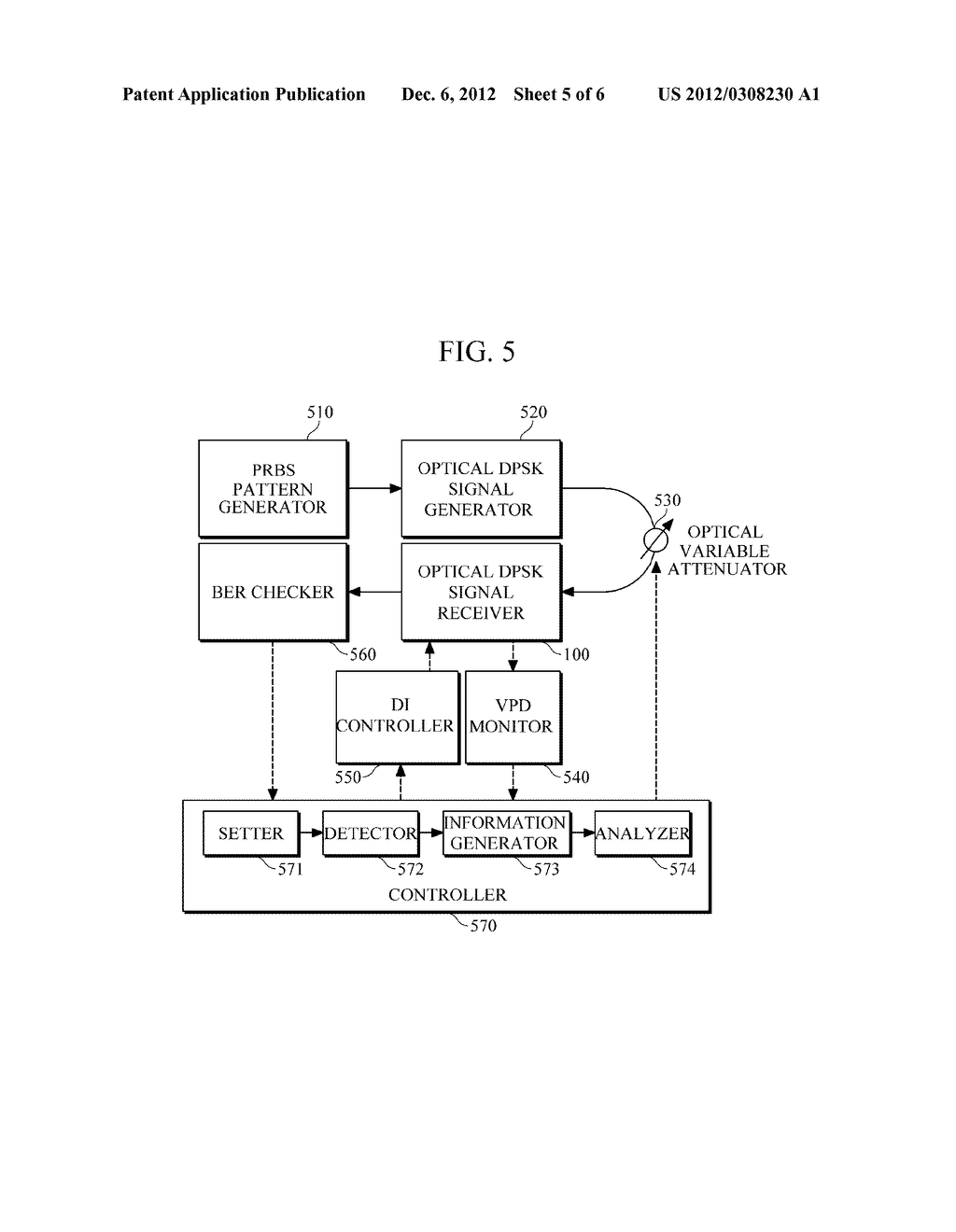 METHOD AND APPARATUS FOR CONTROLLING AN OPTICAL RECEIVER HAVING DELAY     PATHS - diagram, schematic, and image 06