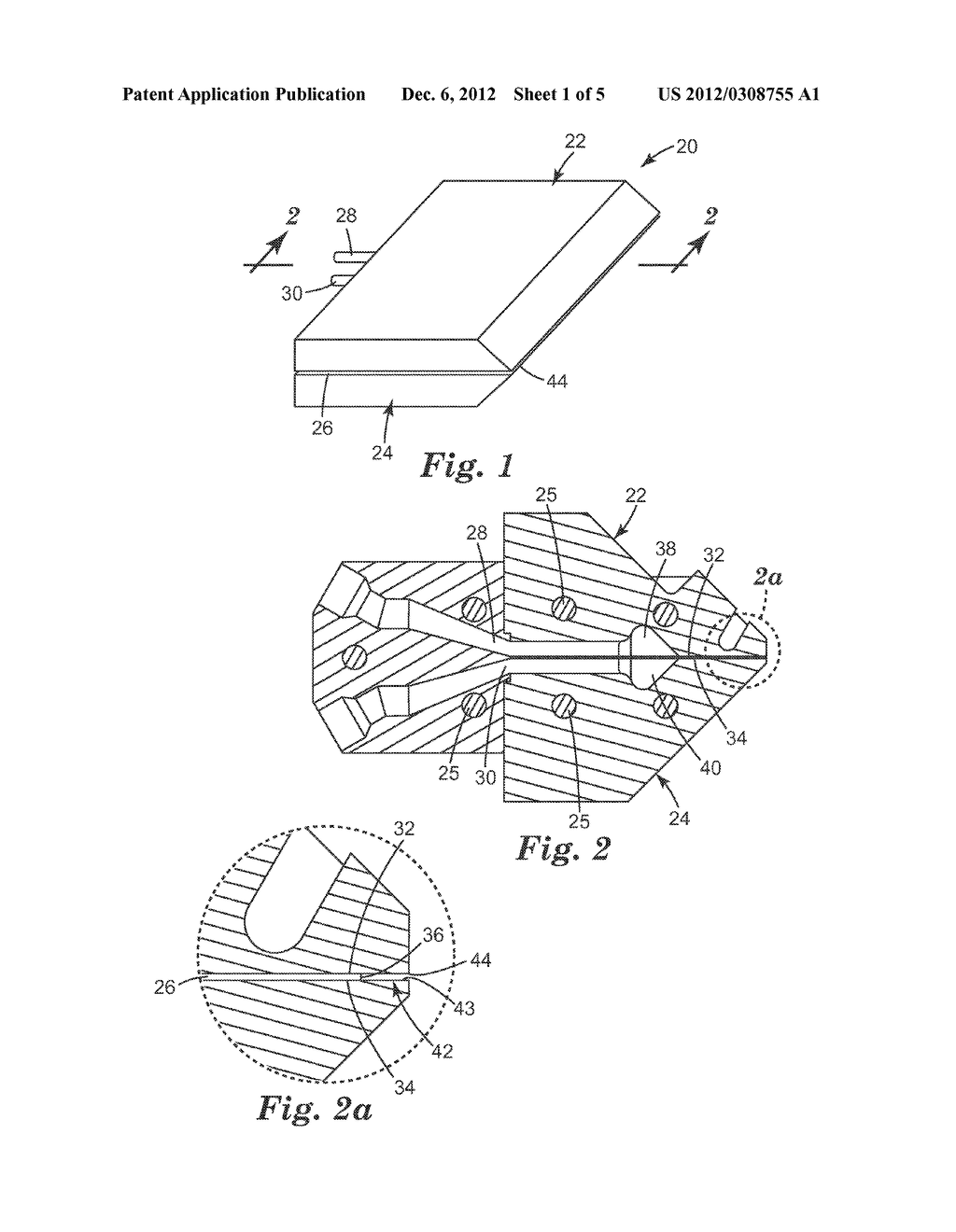 METHOD OF CO-EXTRUDING, CO-EXTRUSION DIE, AND EXTRUDED ARTICLES MADE     THEREFROM - diagram, schematic, and image 02