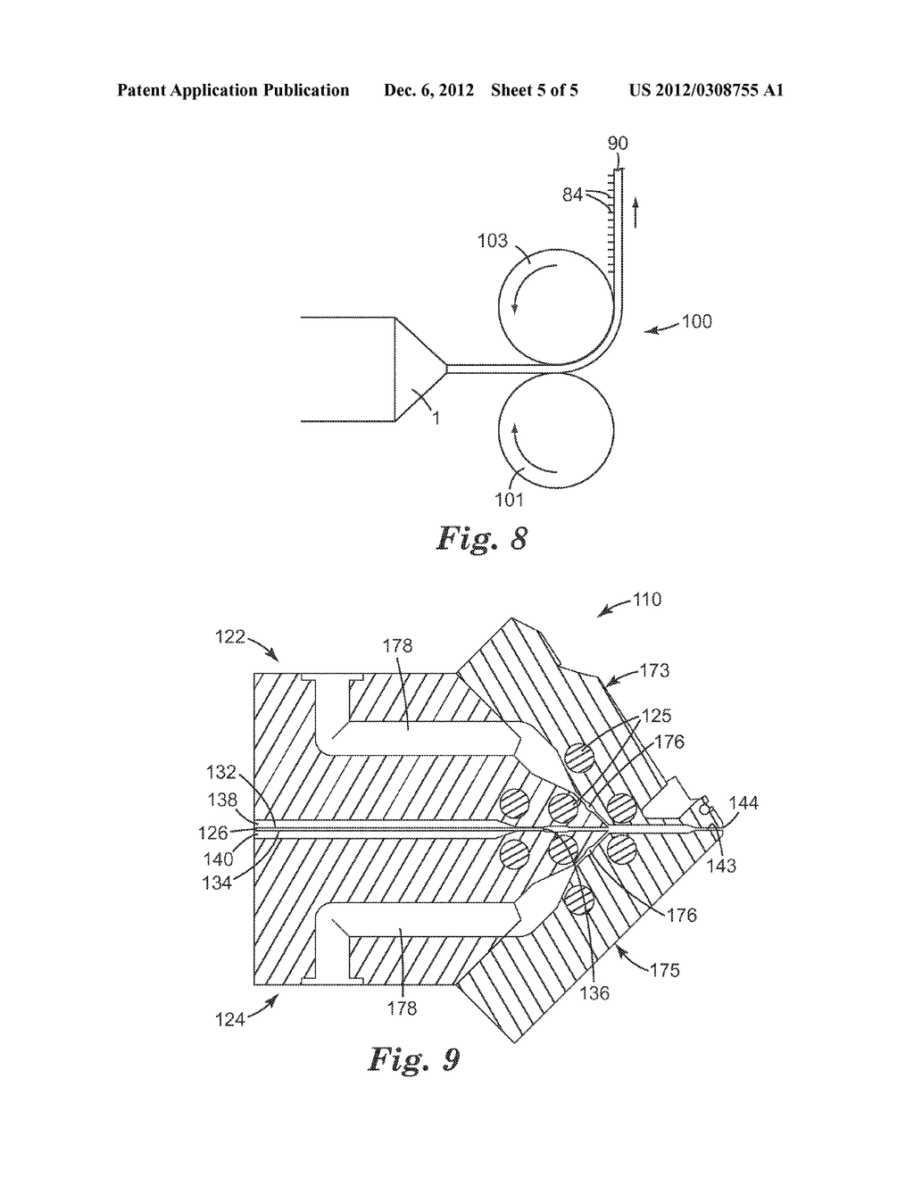 METHOD OF CO-EXTRUDING, CO-EXTRUSION DIE, AND EXTRUDED ARTICLES MADE     THEREFROM - diagram, schematic, and image 06