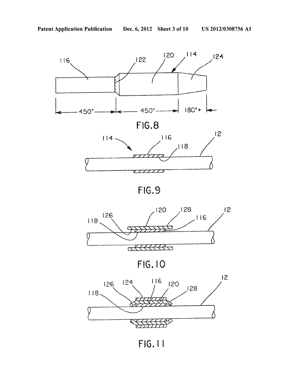 Self-Laminating Rotating Cable Marker Label with Breakaway Portion - diagram, schematic, and image 04