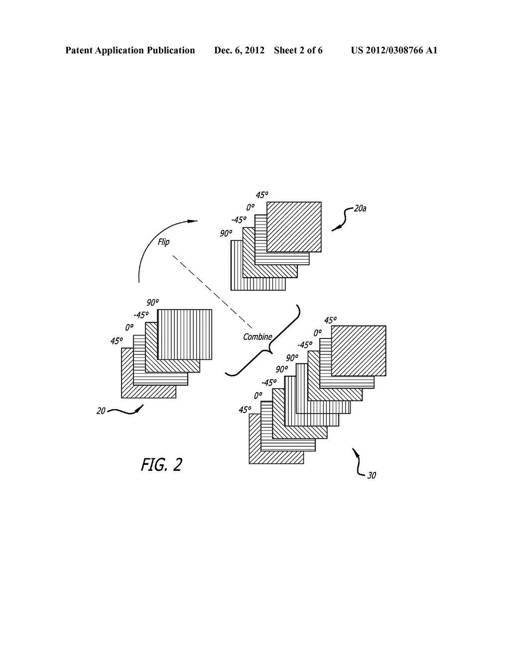 Method of Molding Complex Composite Parts Using Pre-Plied     Multi-Directional Continuous Fiber Laminate - diagram, schematic, and image 03