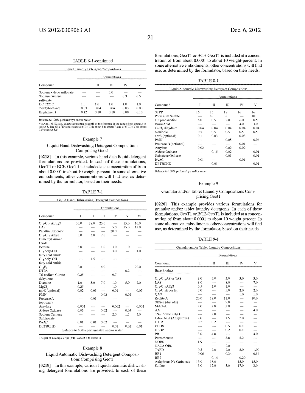 DETERGENT COMPOSITIONS CONTAINING GEOBACILLUS STEAROTHERMOPHILUS LIPASE     AND METHODS OF USE THEREOF - diagram, schematic, and image 22