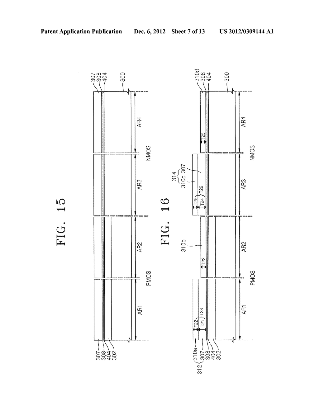 METHODS OF FORMING MOSFET DEVICES USING NITROGEN-INJECTED OXIDE LAYERS TO     FORM GATE INSULATING LAYERS HAVING DIFFERENT THICKNESSES - diagram, schematic, and image 08