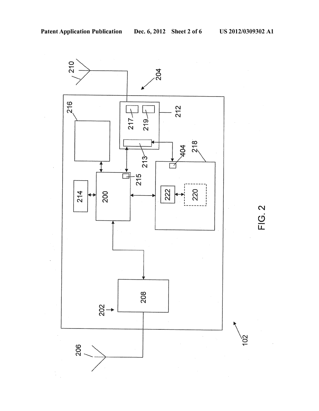 Wireless Communication Device for Providing at Least One Near Field     Communication Service - diagram, schematic, and image 03