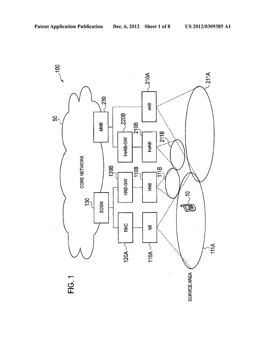 MOBILE COMMUNICATION SYSTEM, NETWORK APPARATUS AND MOBILE COMMUNICATION     METHOD - diagram, schematic, and image 02
