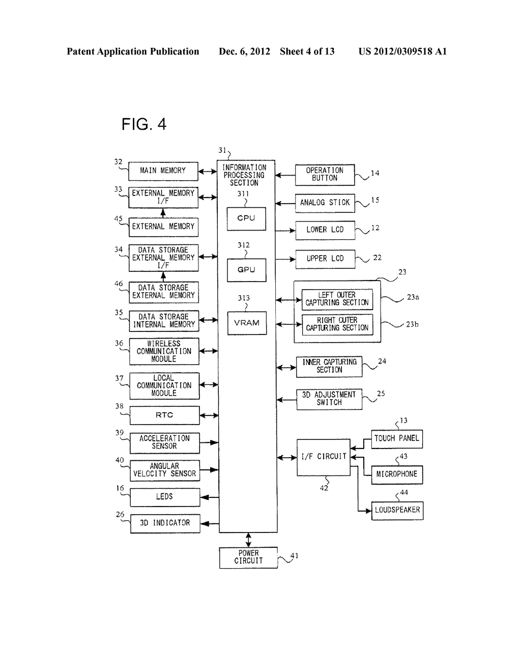 APPARATUS AND METHOD FOR GYRO-CONTROLLED GAMING VIEWPOINT WITH     AUTO-CENTERING - diagram, schematic, and image 05
