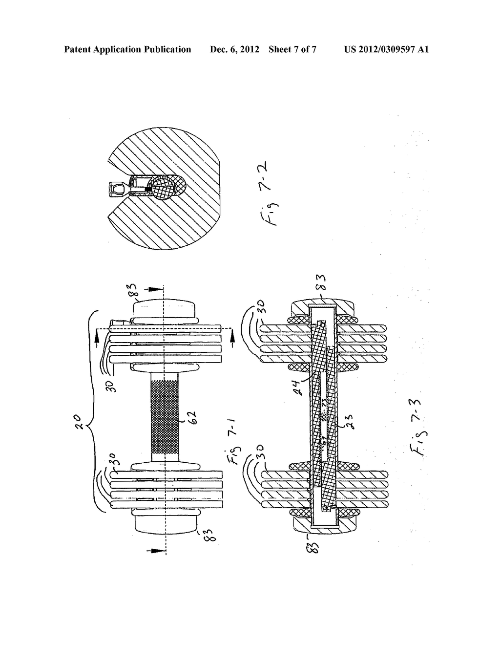 DUMBBELL GLIDE APPARATUS WITH WEIGHT ADJUSTING KEY - diagram, schematic, and image 08