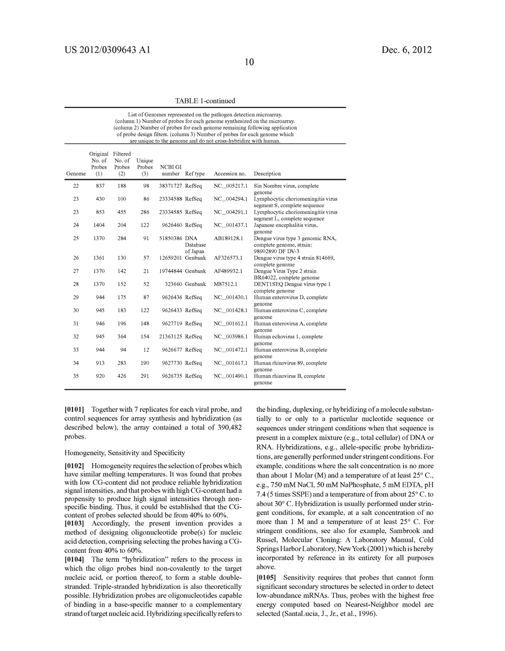 METHOD AND/OR APPARATUS OF OLIGONUCLEOTIDE DESIGN AND/OR NUCLEIC ACID     DETECTION - diagram, schematic, and image 31