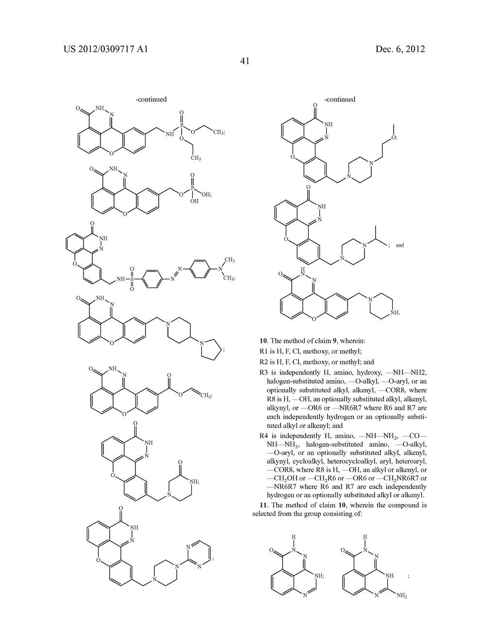 COMPOUNDS, METHODS AND PHARMACEUTICAL COMPOSITIONS FOR INHIBITING PARP - diagram, schematic, and image 43