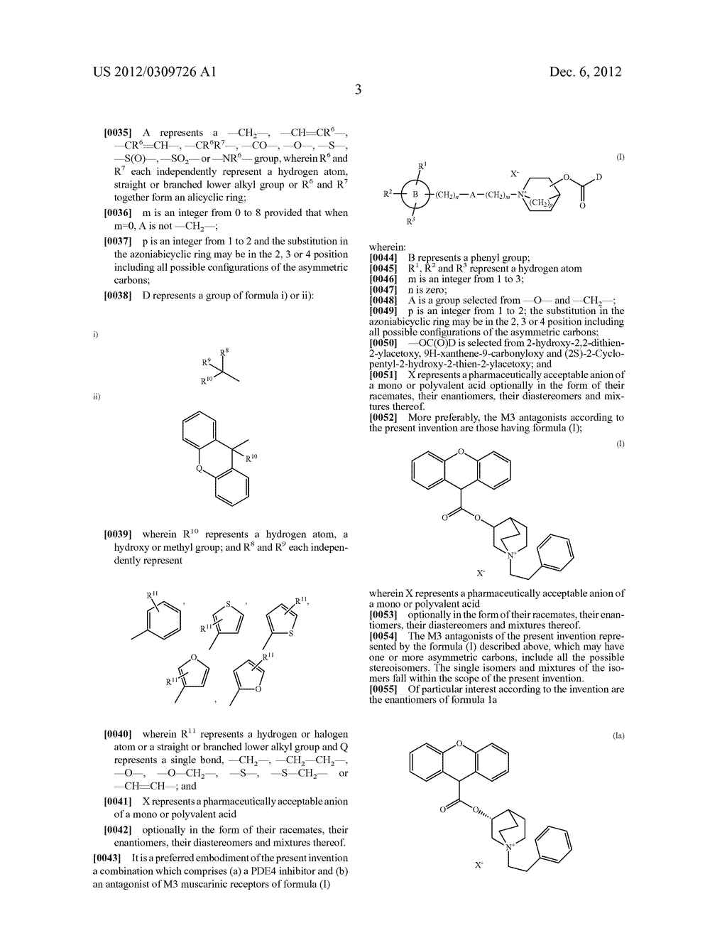 COMBINATIONS COMPRISING ANTIMUSCARINIC AGENTS AND PDE4 INHIBITORS - diagram, schematic, and image 04