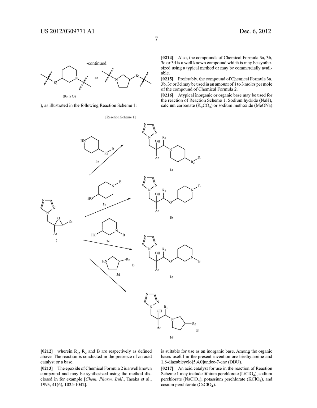 NOVEL ANTIFUNGAL TRIAZOLE DERIVATIVES - diagram, schematic, and image 08