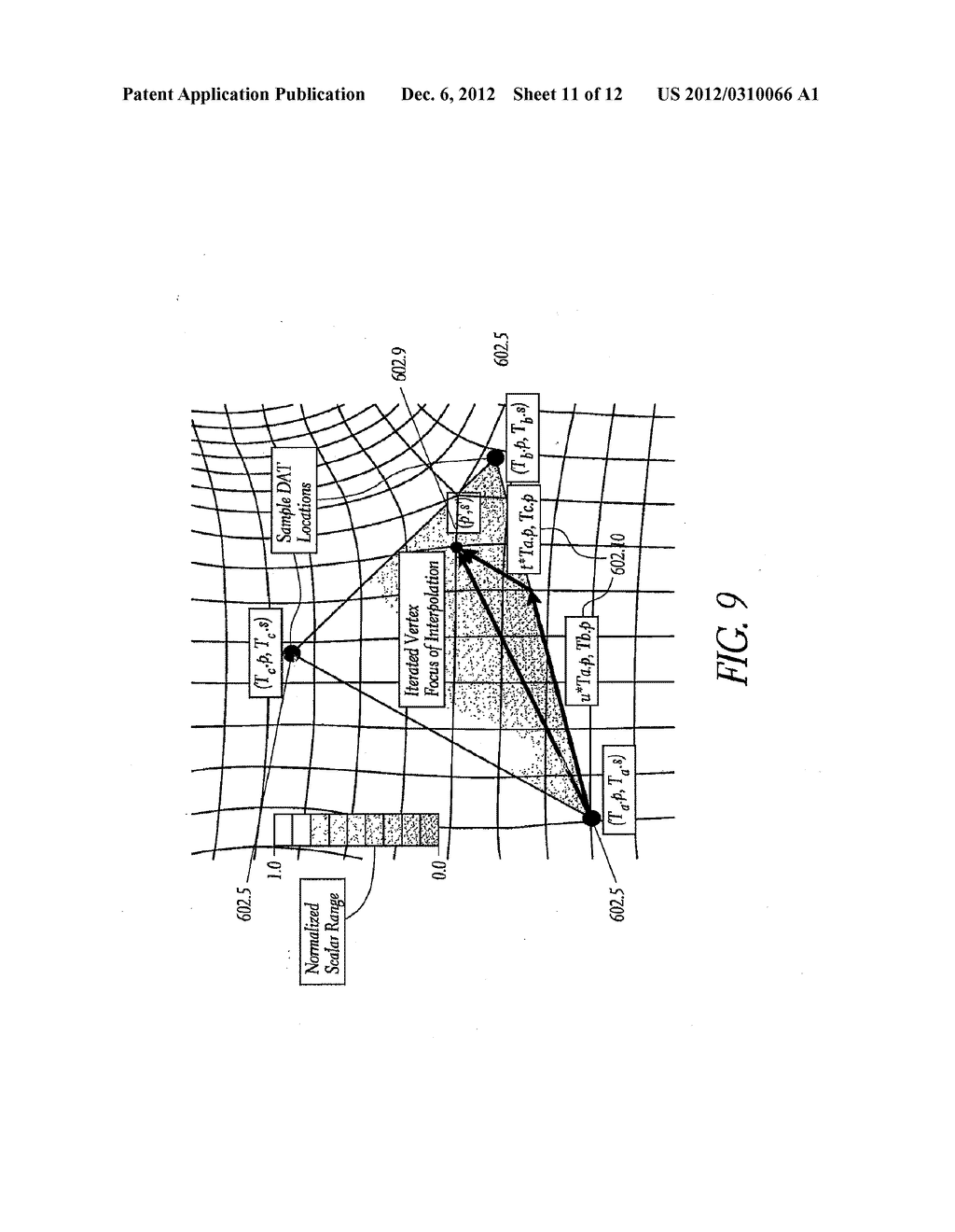 METHOD AND APPARATUS FOR CREATING A HIGH RESOLUTION MAP OF THE ELECTRICAL     AND MECHANICAL PROPERTIES OF THE HEART - diagram, schematic, and image 12