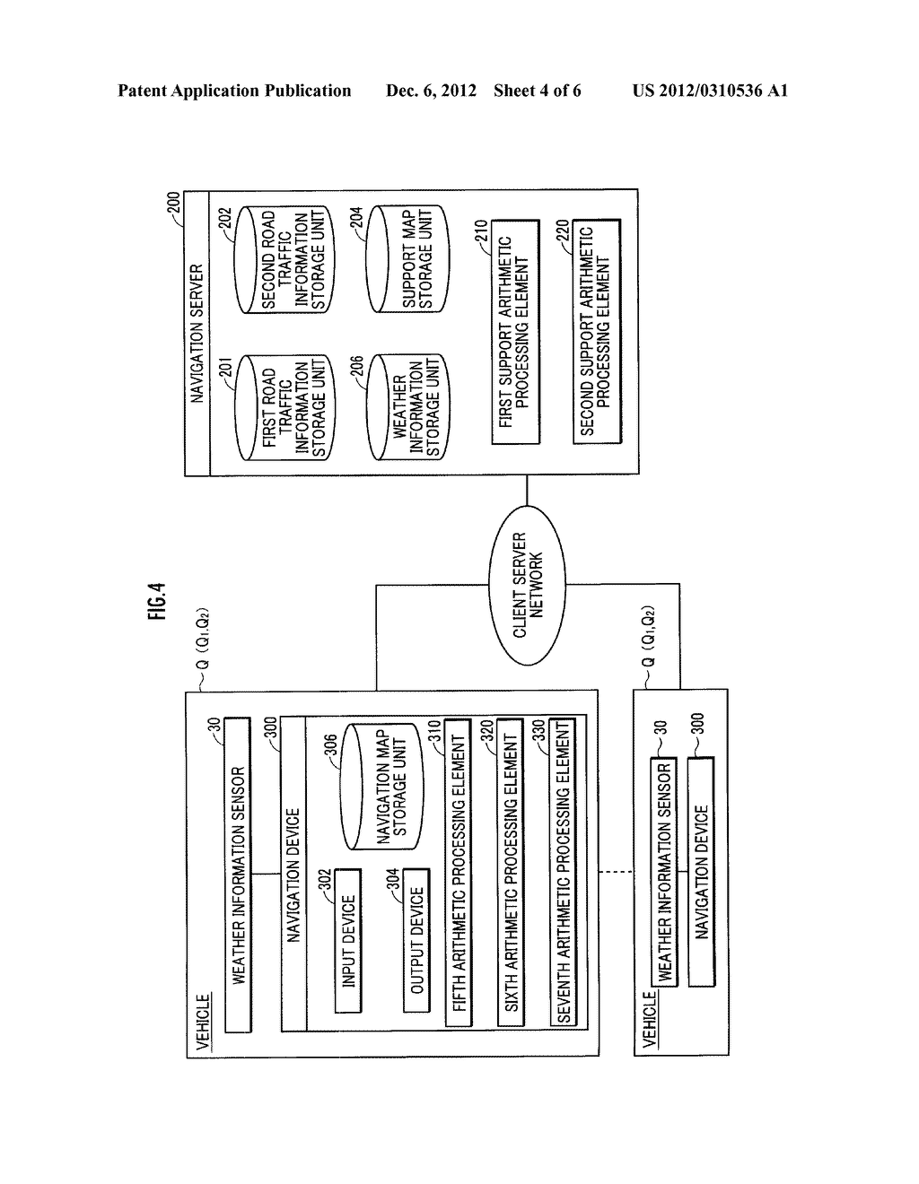 WEATHER INFORMATION PROCESSING DEVICE AND WEATHER INFORMATION PROCESSING     SYSTEM - diagram, schematic, and image 05