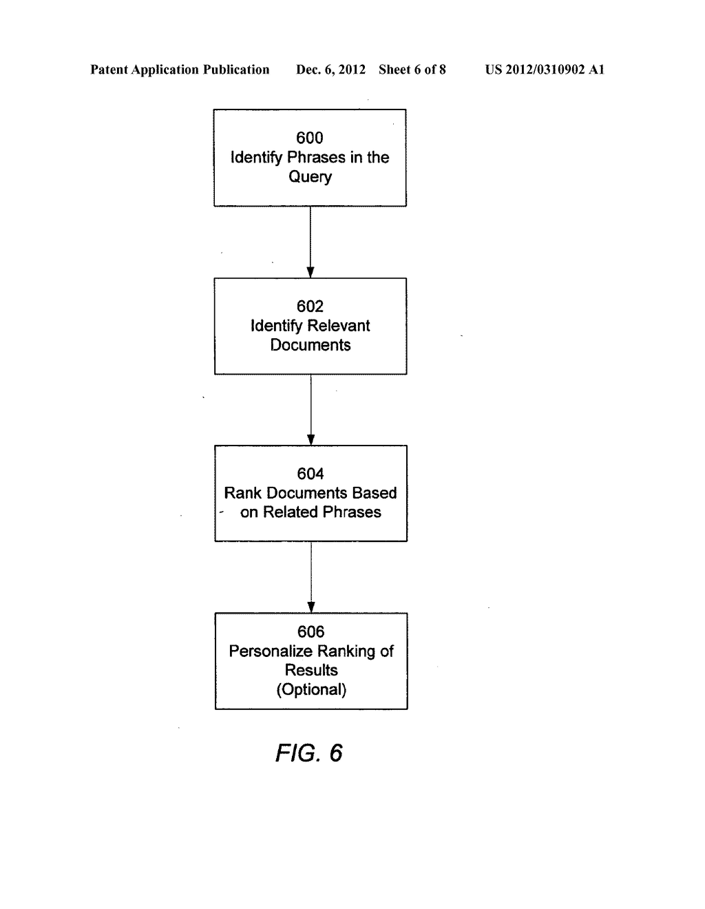 PHRASE-BASED DETECTION OF DUPLICATE DOCUMENTS IN AN INFORMATION RETRIEVAL     SYSTEM - diagram, schematic, and image 07