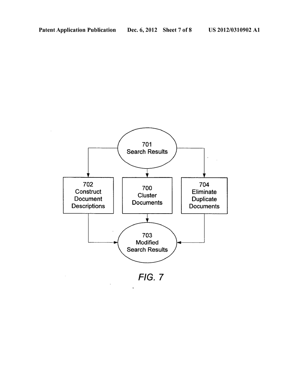 PHRASE-BASED DETECTION OF DUPLICATE DOCUMENTS IN AN INFORMATION RETRIEVAL     SYSTEM - diagram, schematic, and image 08