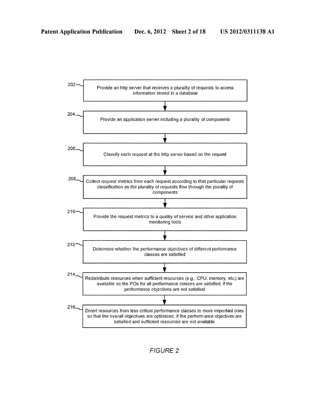 SYSTEM AND METHOD FOR USING QUALITY OF SERVICE WITH WORKLOAD MANAGEMENT IN     AN APPLICATION SERVER ENVIRONMENT - diagram, schematic, and image 03
