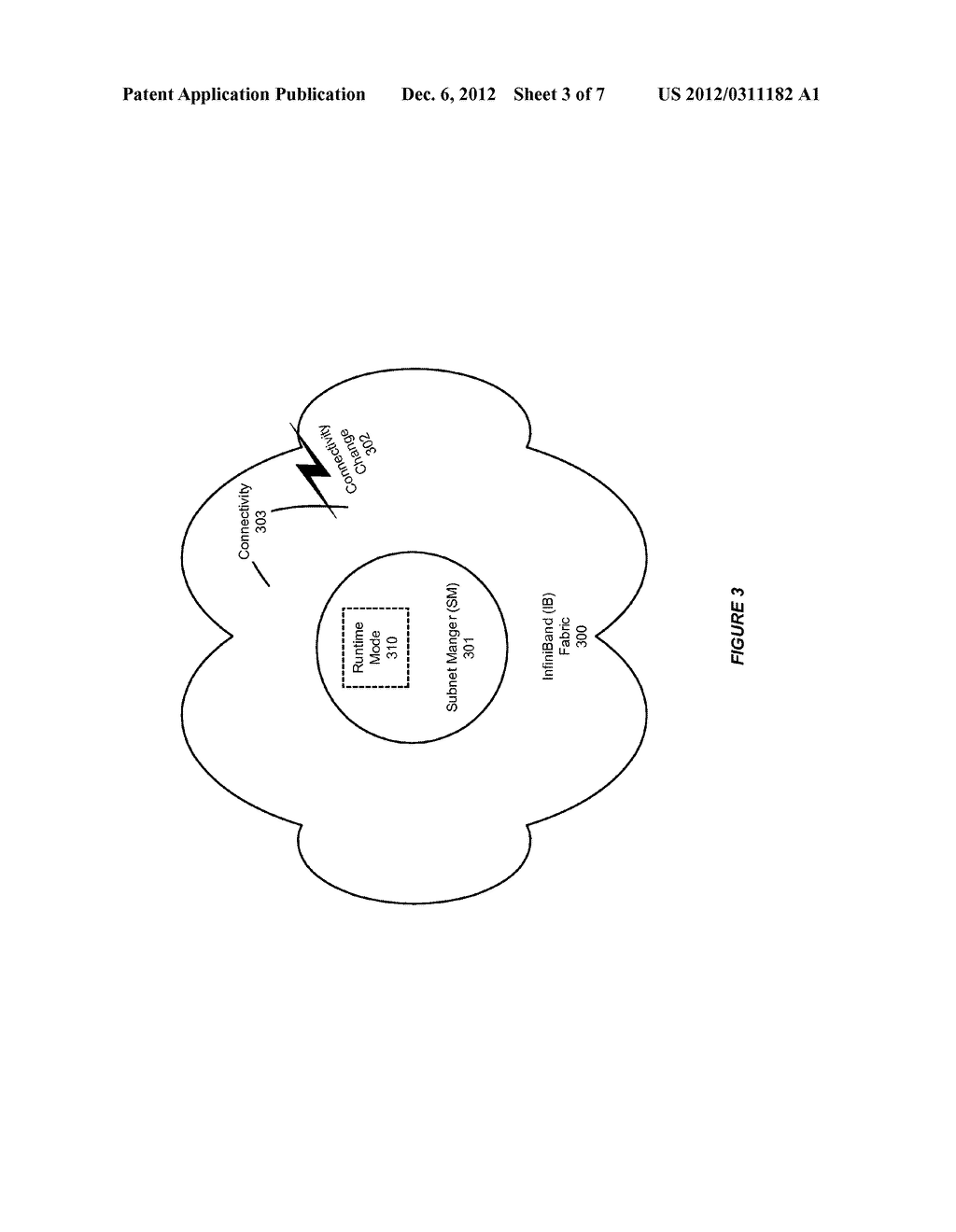 SYSTEM AND METHOD FOR SUPPORTING CONTROLLED RE-ROUTING IN AN INFINIBAND     (IB) NETWORK - diagram, schematic, and image 04