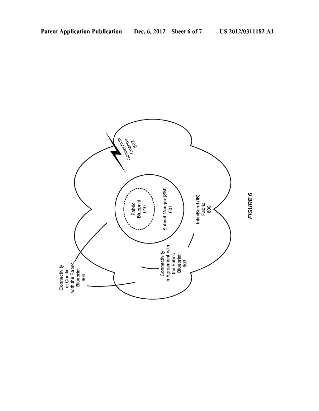 SYSTEM AND METHOD FOR SUPPORTING CONTROLLED RE-ROUTING IN AN INFINIBAND     (IB) NETWORK - diagram, schematic, and image 07