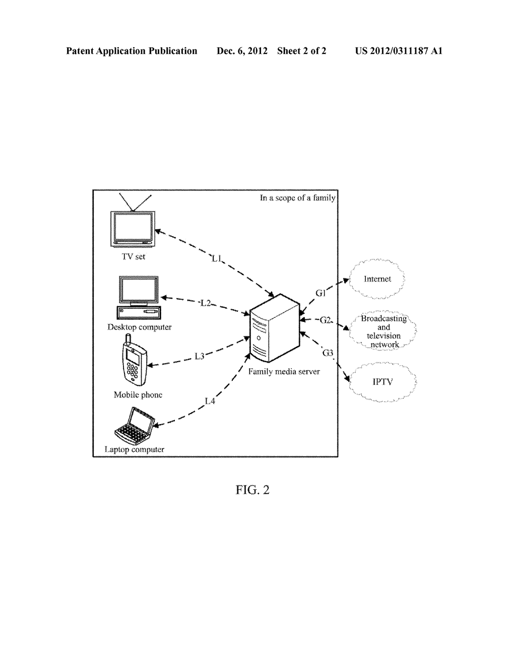 Media Server and Method for Audio/Video Transmission - diagram, schematic, and image 03