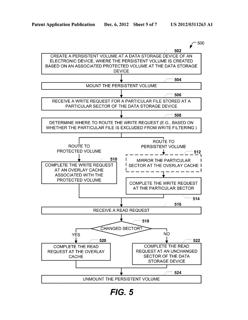 SECTOR-BASED WRITE FILTERING WITH SELECTIVE FILE AND REGISTRY EXCLUSIONS - diagram, schematic, and image 06