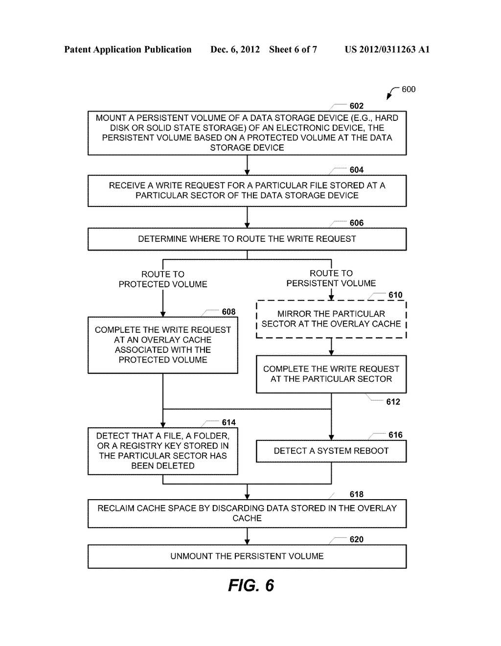 SECTOR-BASED WRITE FILTERING WITH SELECTIVE FILE AND REGISTRY EXCLUSIONS - diagram, schematic, and image 07