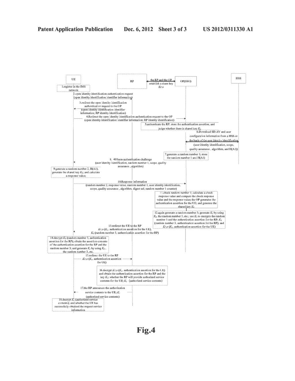 METHOD AND SYSTEM FOR SINGLE SIGN-ON - diagram, schematic, and image 04