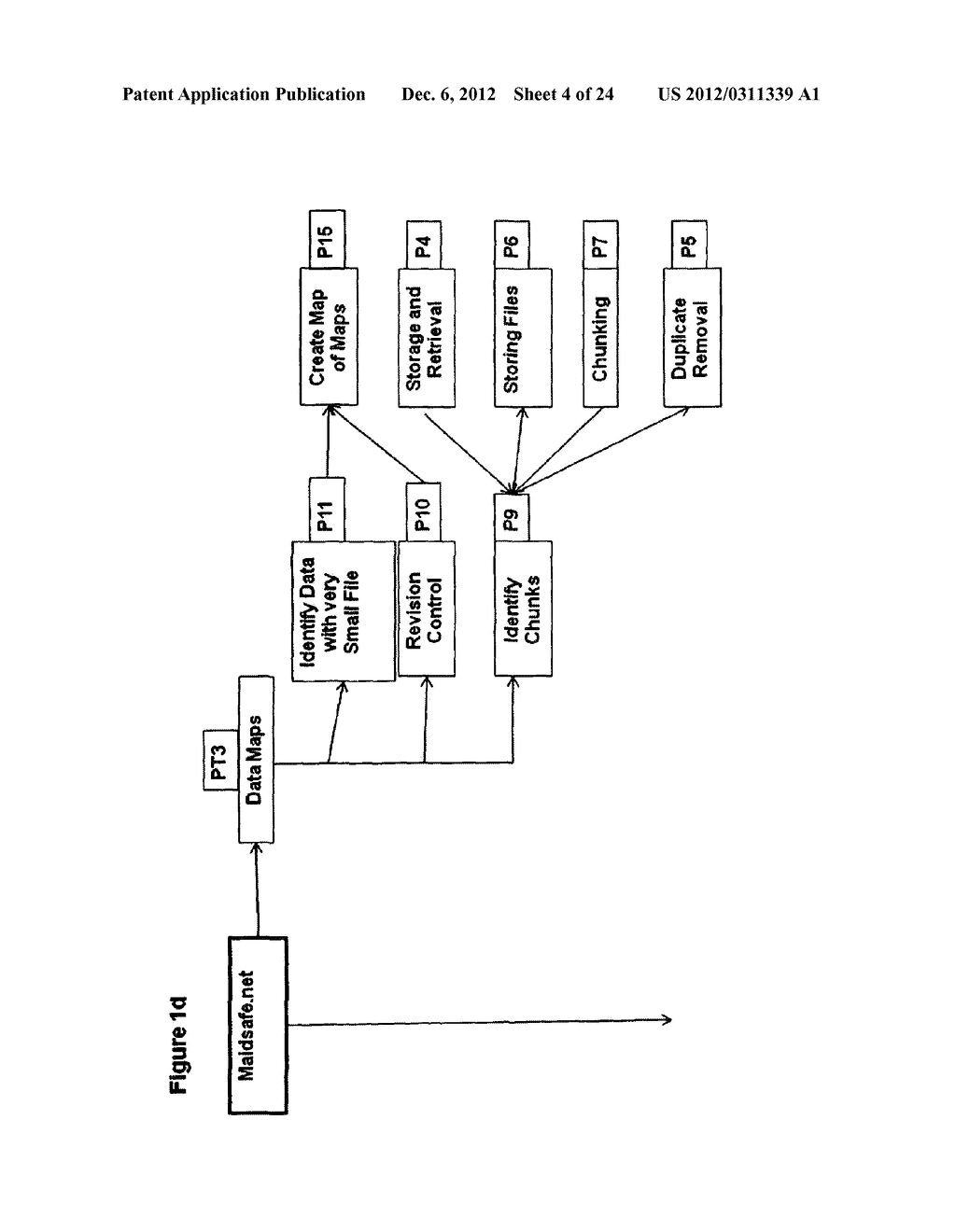 METHOD FOR STORING DATA ON A PEER-TO-PEER NETWORK - diagram, schematic, and image 05