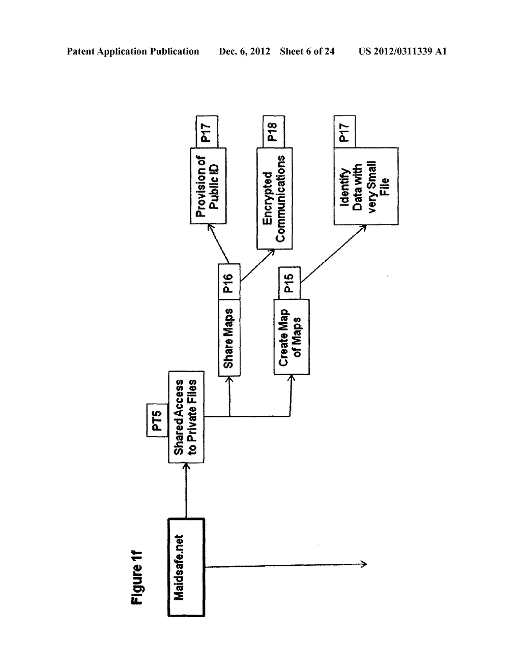 METHOD FOR STORING DATA ON A PEER-TO-PEER NETWORK - diagram, schematic, and image 07