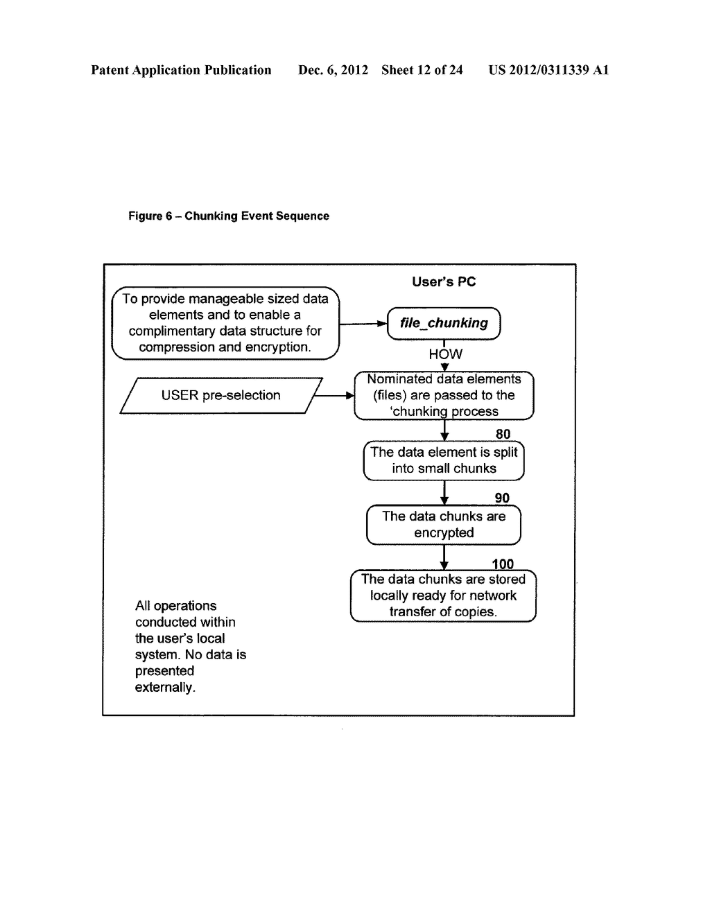 METHOD FOR STORING DATA ON A PEER-TO-PEER NETWORK - diagram, schematic, and image 13