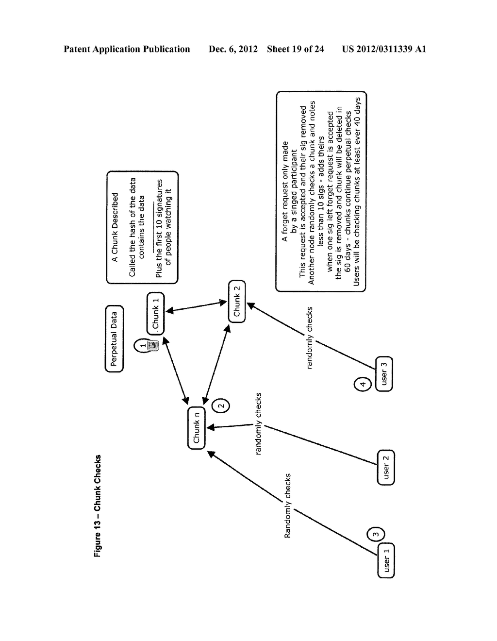 METHOD FOR STORING DATA ON A PEER-TO-PEER NETWORK - diagram, schematic, and image 20