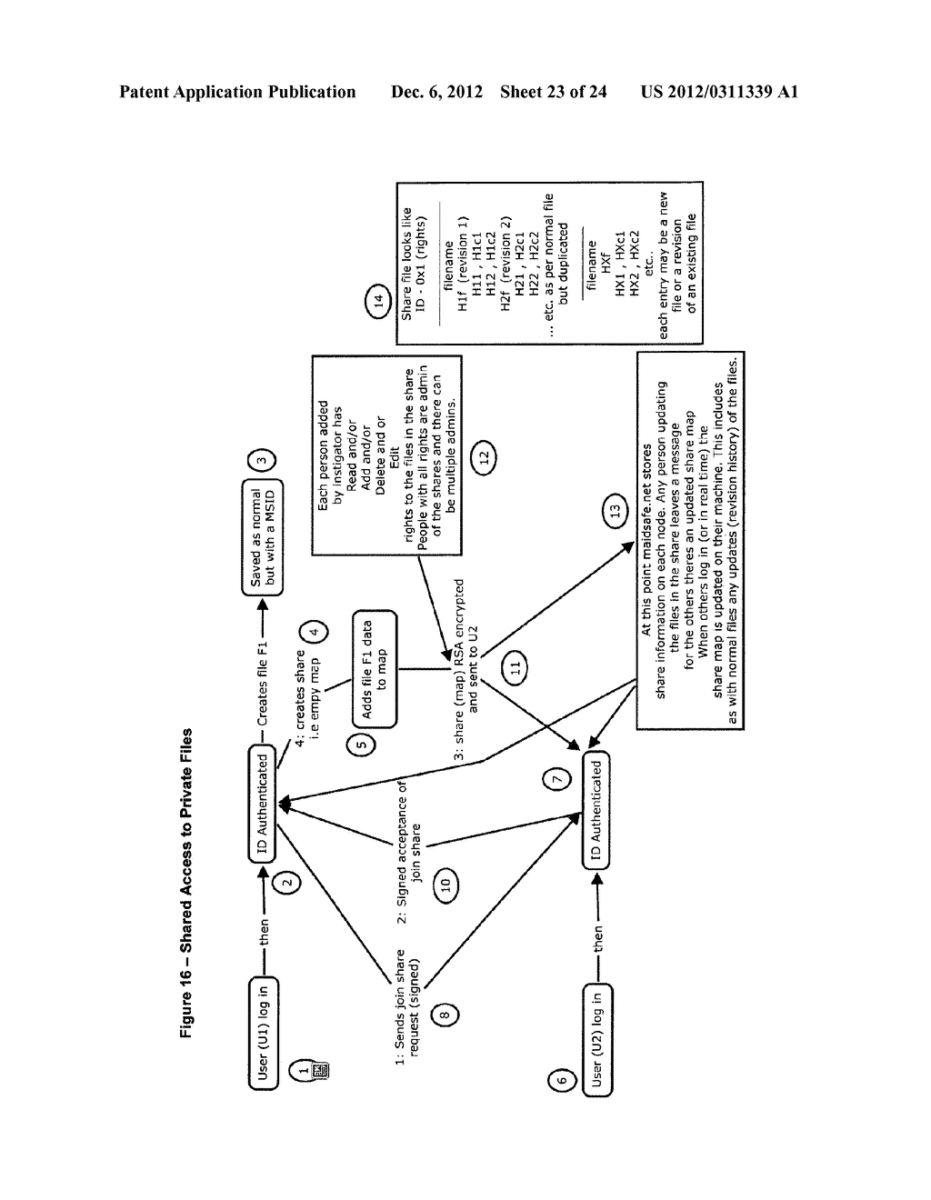 METHOD FOR STORING DATA ON A PEER-TO-PEER NETWORK - diagram, schematic, and image 24