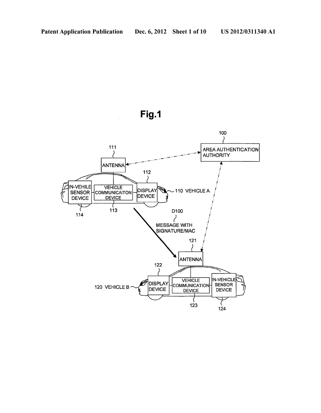 WIRELESS COMMUNICATIONS DEVICE AND AUTHENTICATION PROCESSING METHOD - diagram, schematic, and image 02