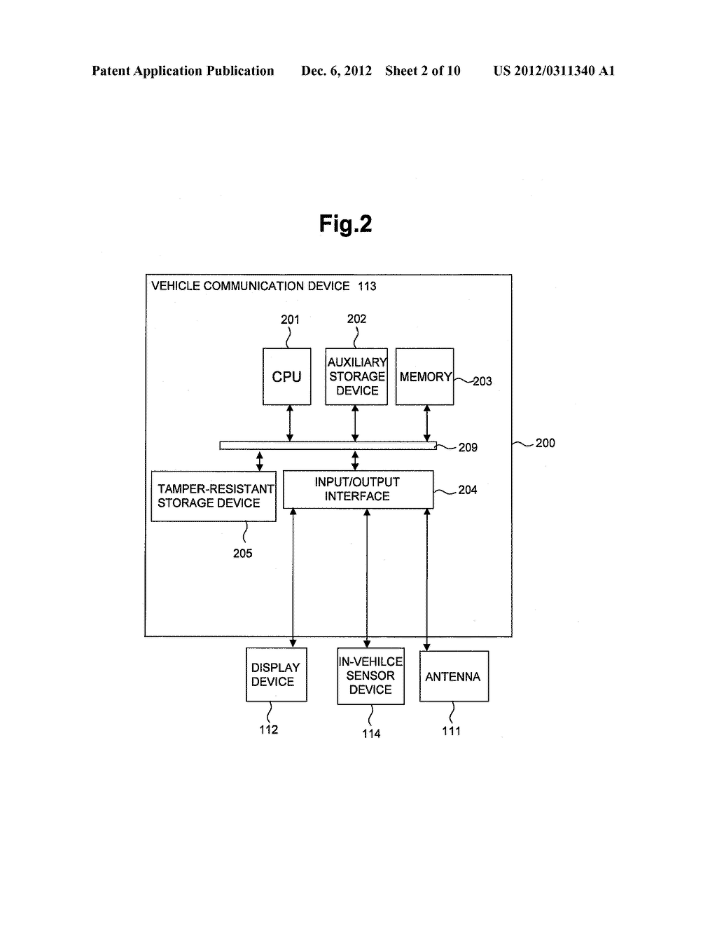 WIRELESS COMMUNICATIONS DEVICE AND AUTHENTICATION PROCESSING METHOD - diagram, schematic, and image 03
