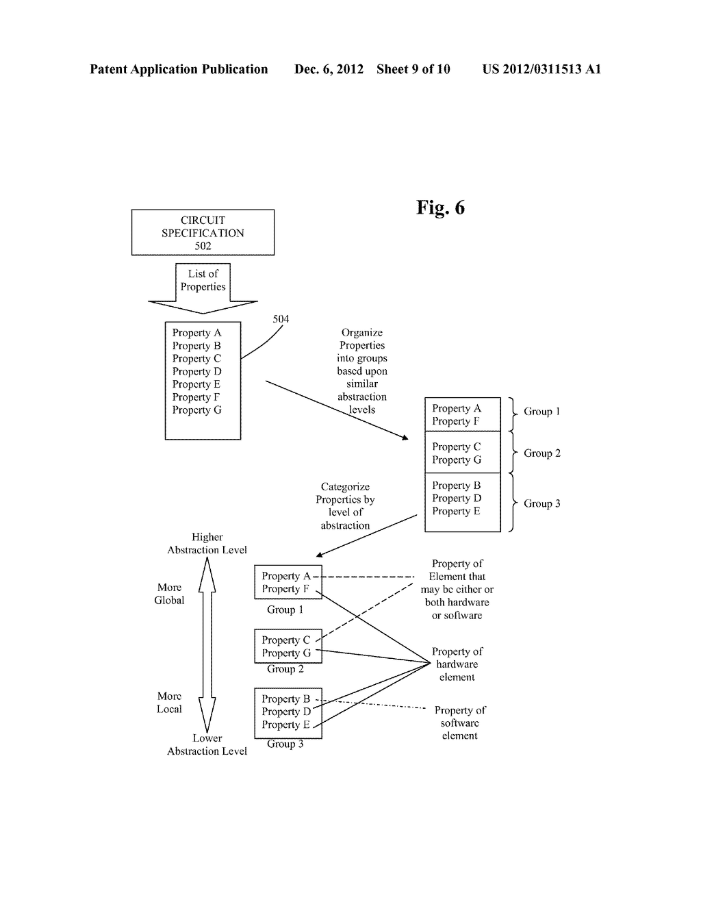 METHOD AND SYSTEM FOR IMPLEMENTING TOP DOWN DESIGN AND VERIFICATION OF AN     ELECTRONIC DESIGN - diagram, schematic, and image 10