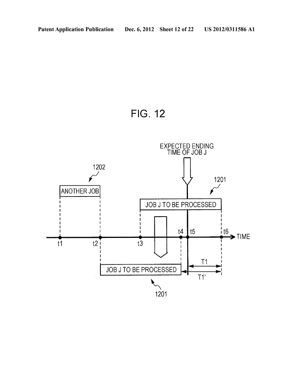 APPARATUS AND METHOD FOR PREDICTING A PROCESSING TIME OF A COMPUTER - diagram, schematic, and image 13