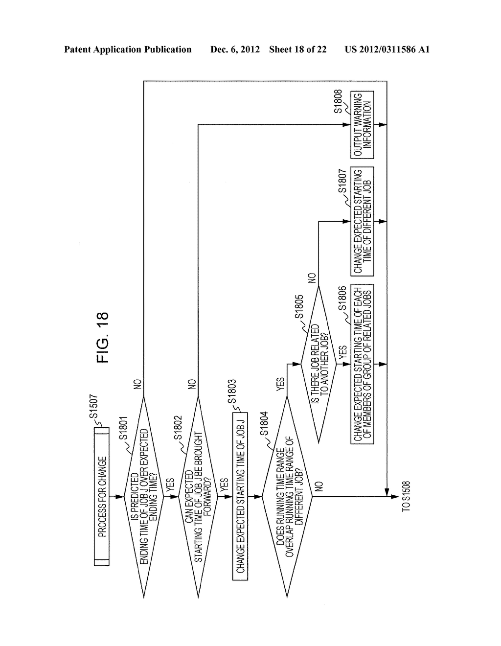 APPARATUS AND METHOD FOR PREDICTING A PROCESSING TIME OF A COMPUTER - diagram, schematic, and image 19