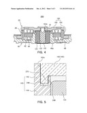 SPINDLE MOTOR HAVING SHAFT WITH AXIALLY UPWARDLY OPENING INSERTION GROOVE diagram and image
