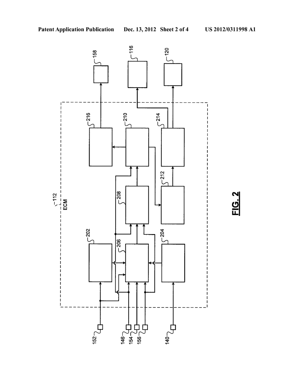 SYSTEM AND METHOD FOR DETERMINING AN AMMONIA GENERATION RATE IN A     THREE-WAY CATALYST - diagram, schematic, and image 03