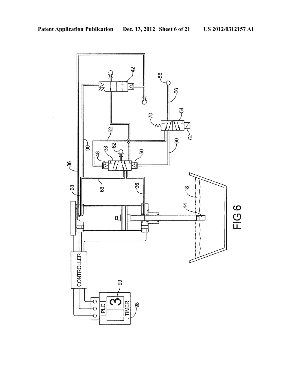 PNEUMATIC SYSTEM FOR CONTROLLING ALUMINUM BATH CRUST BREAKER - diagram, schematic, and image 07