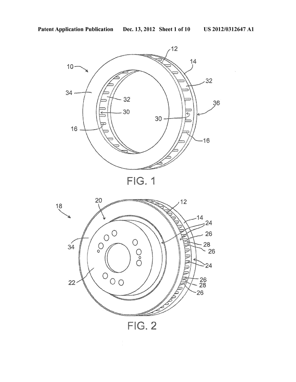 LIGHTWEIGHT BRAKE ROTOR AND COMPONENTS WITH COMPOSITE MATERIALS - diagram, schematic, and image 02