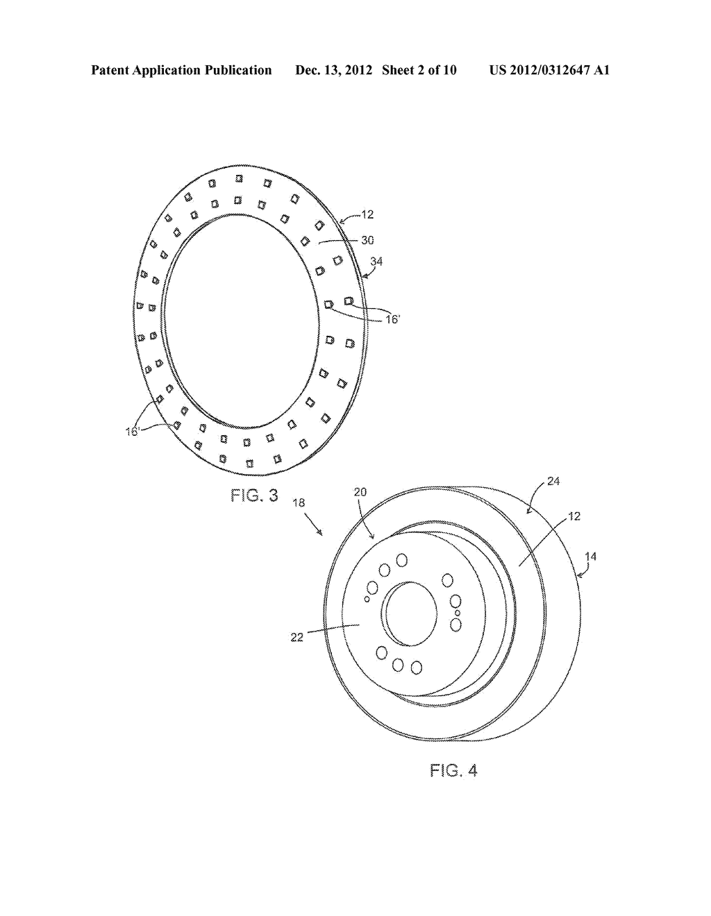 LIGHTWEIGHT BRAKE ROTOR AND COMPONENTS WITH COMPOSITE MATERIALS - diagram, schematic, and image 03