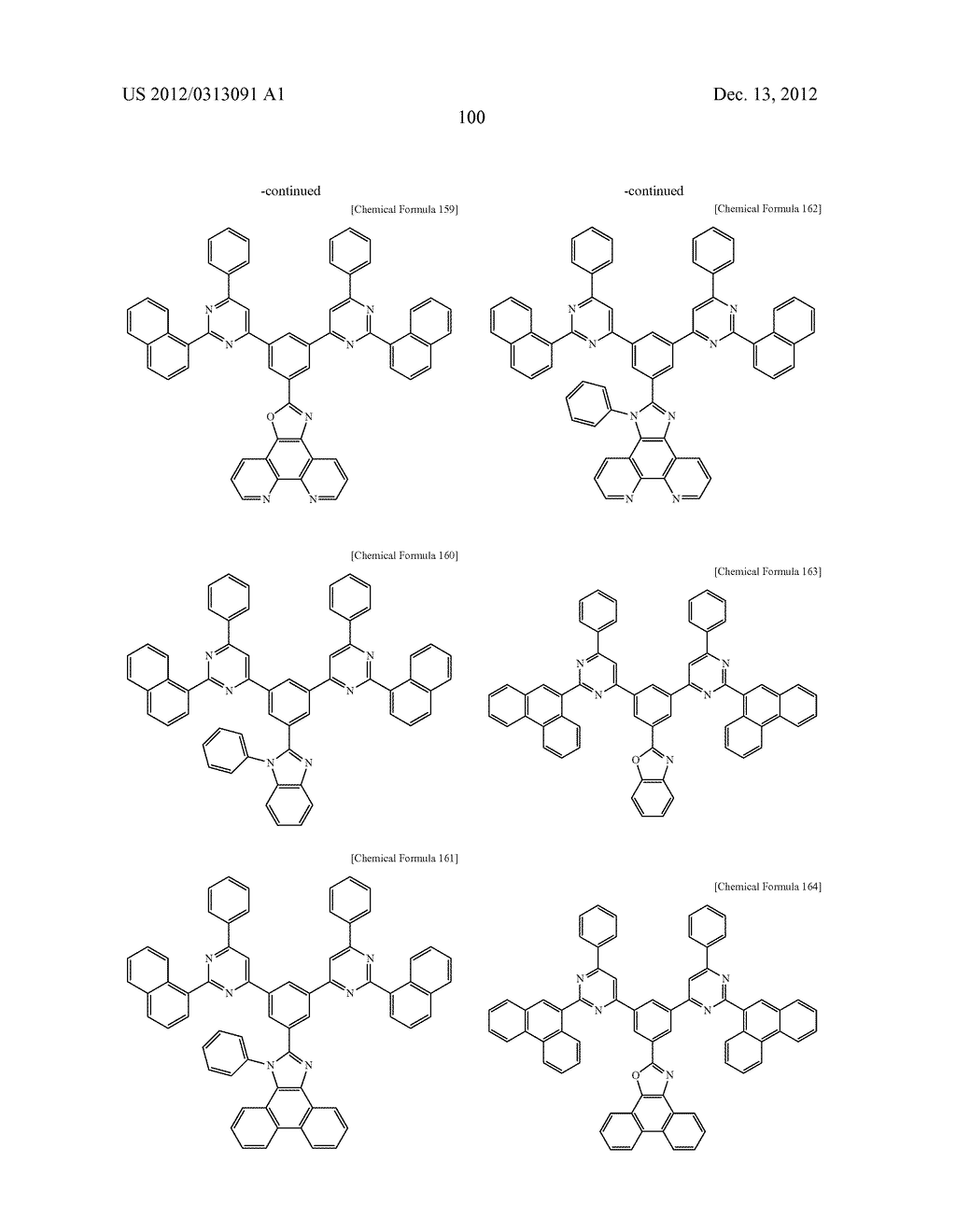 COMPOUND FOR AN ORGANIC PHOTOELECTRIC DEVICE, ORGANIC PHOTOELECTRIC DEVICE     INCLUDING THE SAME, AND DISPLAY DEVICE INCLUDING THE ORGANIC     PHOTOELECTRIC DEVICE - diagram, schematic, and image 108