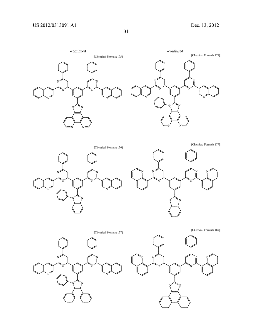 COMPOUND FOR AN ORGANIC PHOTOELECTRIC DEVICE, ORGANIC PHOTOELECTRIC DEVICE     INCLUDING THE SAME, AND DISPLAY DEVICE INCLUDING THE ORGANIC     PHOTOELECTRIC DEVICE - diagram, schematic, and image 39