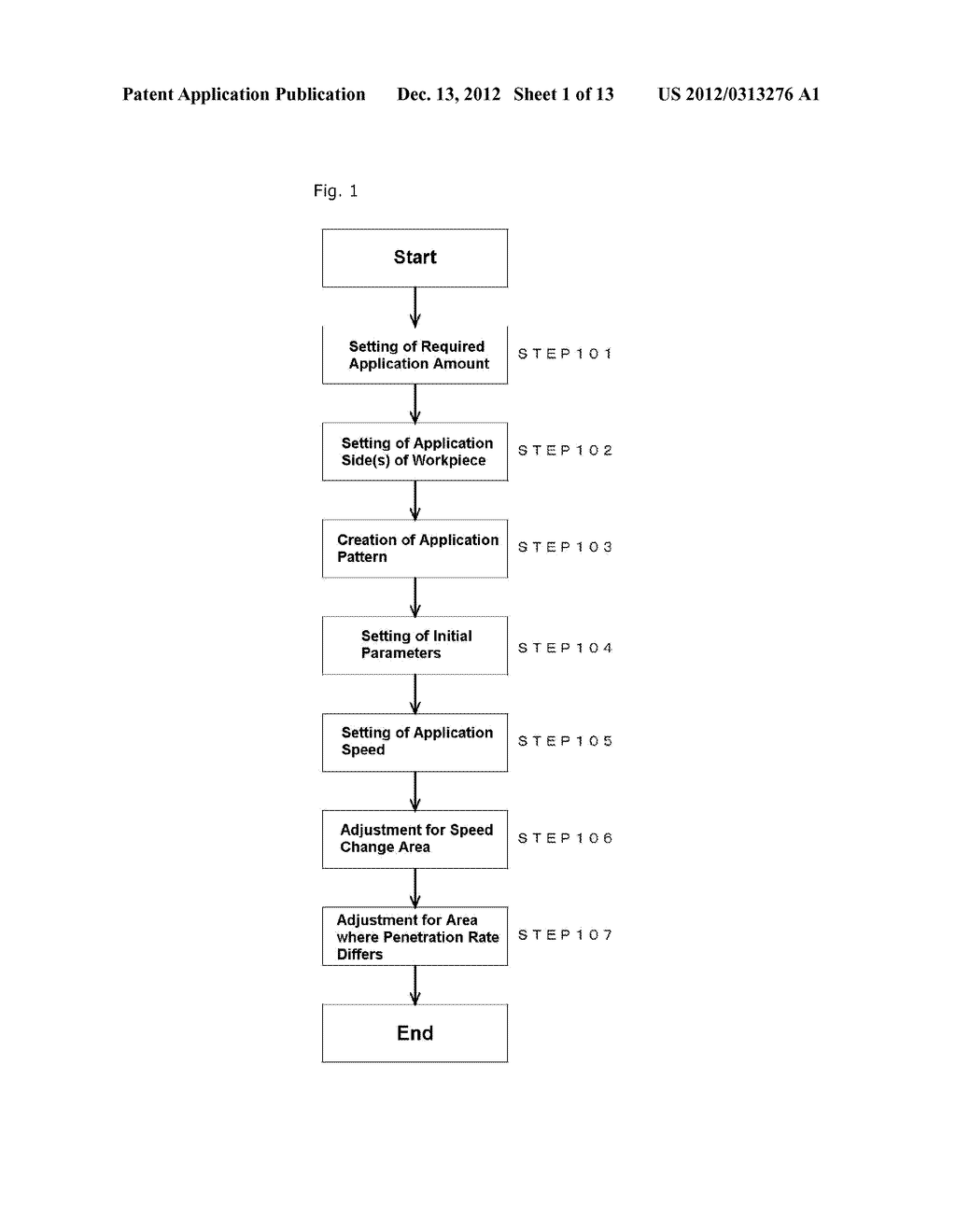 METHOD FOR APPLYING LIQUID MATERIAL, APPLICATION DEVICE AND PROGRAM - diagram, schematic, and image 02
