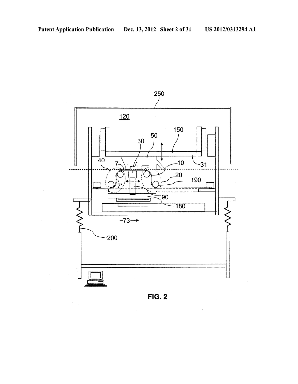 System and Method For Layerwise Production of A Tangible Object - diagram, schematic, and image 03